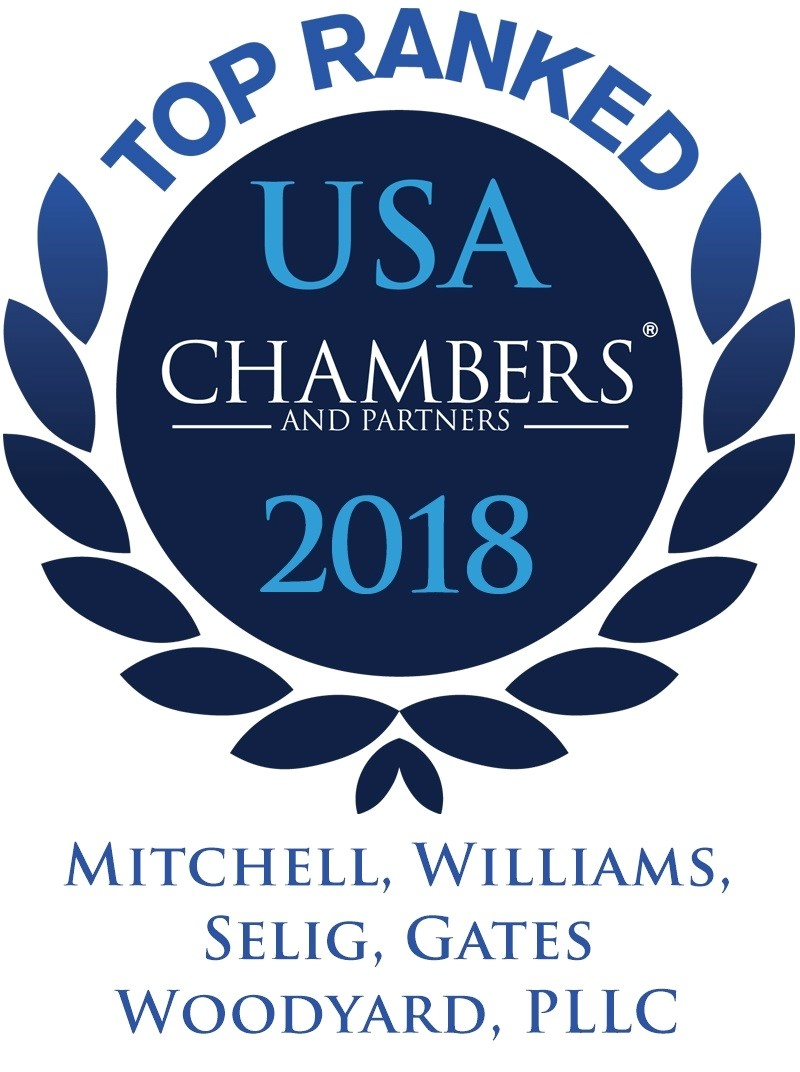 USA Chambers and Partners 2018 Top Ranked